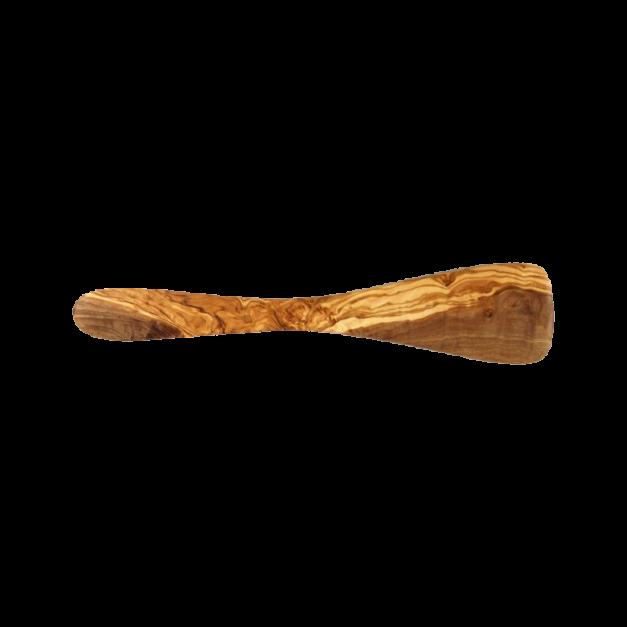 Spatule droite en bois d'olivier.