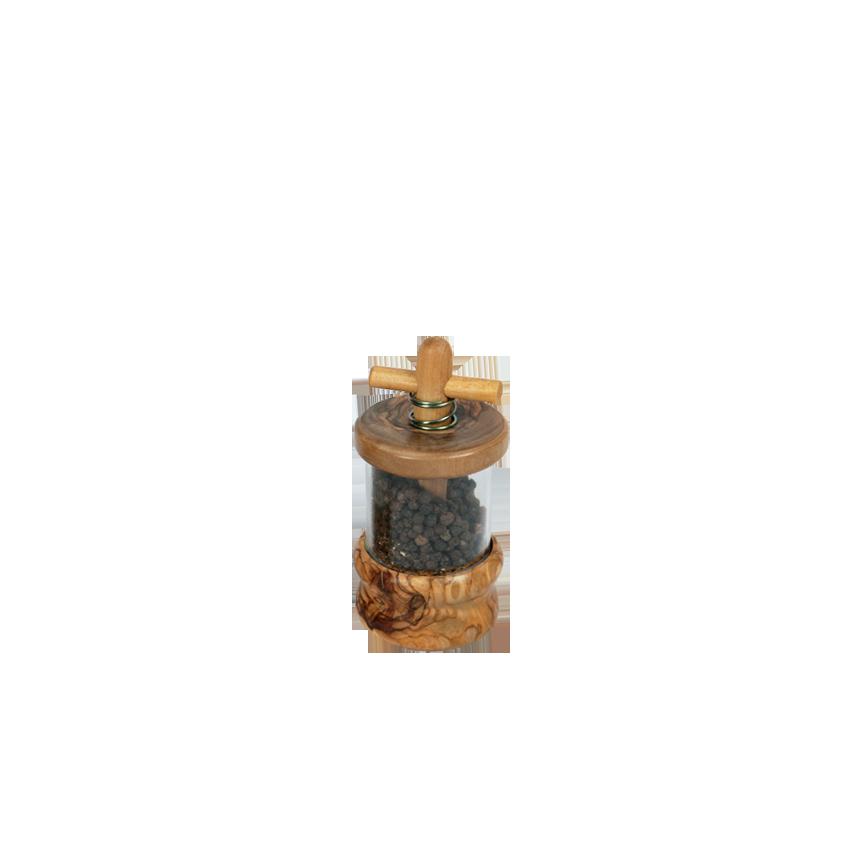 moulin poivre en bois d 39 olivier produit artisanal. Black Bedroom Furniture Sets. Home Design Ideas