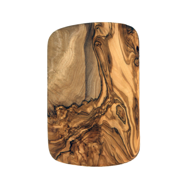 Planchette rectangulaire en bois d'olivier réf 404