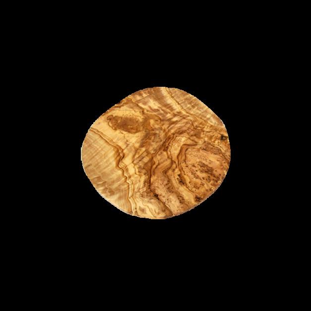 Plat à Pizza sur Pieds en bois d'olivier