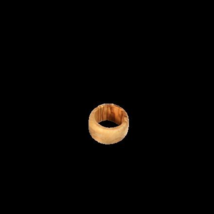 Rond de serviette en bois d'olivier réf 1612
