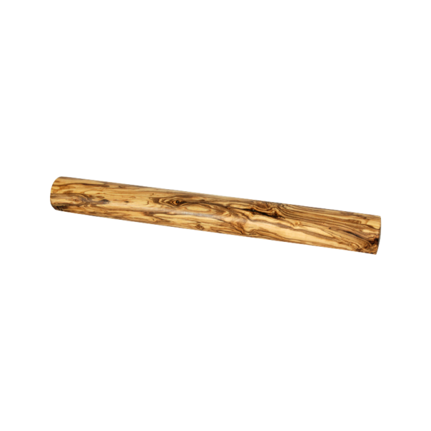 Rouleau à pizza en bois d'olivier réf 1414