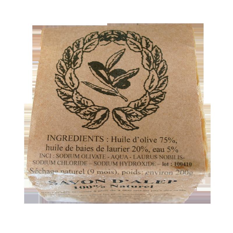 Savon d 39 alep 100 naturel l 39 huile d 39 olive 75 et - Anti puceron naturel huile d olive ...