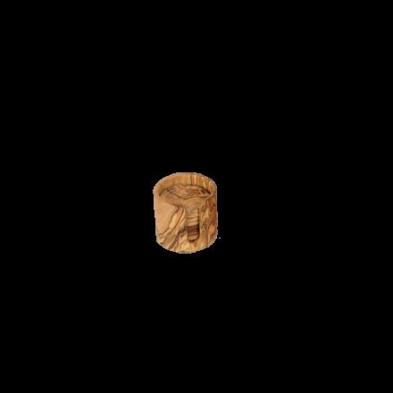 Boite 8 dessous de verre en bois d'olivier - Réf 507